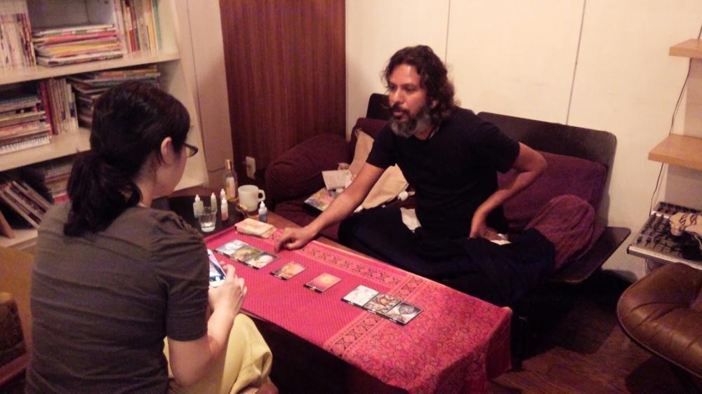 Tarot&Healing session in Kumamoto